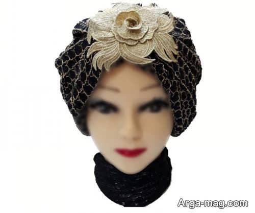 مدل کلاه حجاب مجلسی