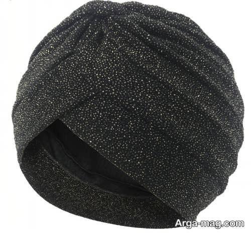 مدل کلاه حجاب ساده و مجلسی