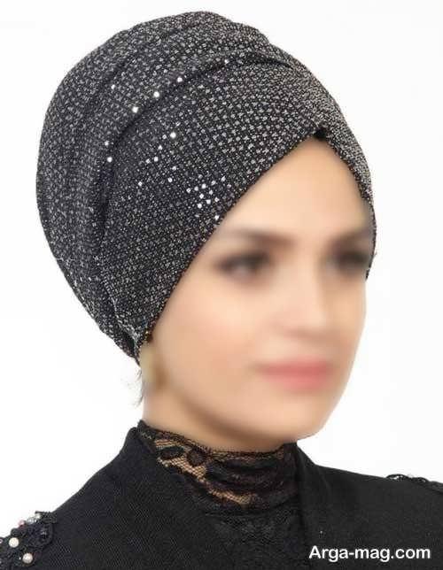 کلاه حجاب مجلسی لمه