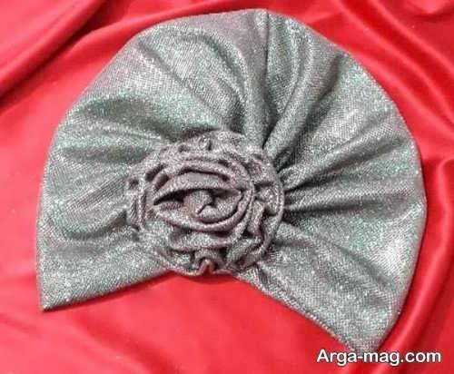 کلاه حجاب مجلسی شیک و خاص