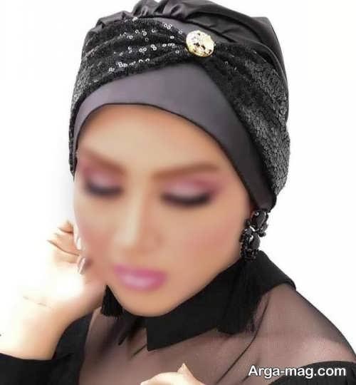 طرح کلاه حجاب