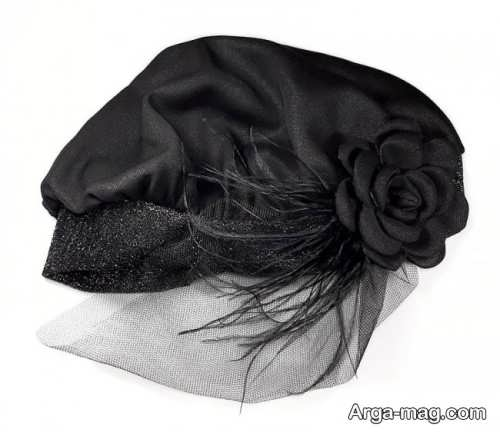 طرح کلاه حجاب شیک و مجلسی