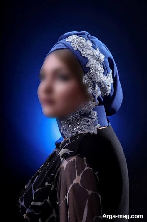 مدل های کلاه حجاب مجلسی شیک و لاکچری برای خانم های ایرانی