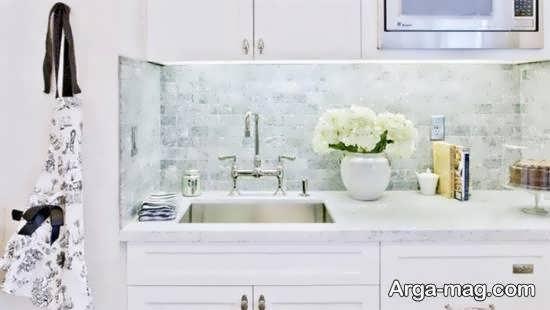 ایده هایی فوق العاده از بهترین رنگ برای کابینت آشپزخانه با ابعاد کم