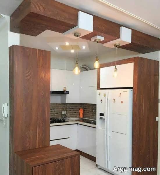 رنگهای مناسب و زیبا برای کابینت آشپزخانه کوچک