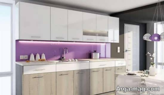 رنگ برای کابینت آشپزخانه های دارای ابعاد کم