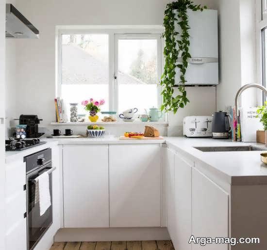 آشنایی با انتخاب رنگ برای کابینت آشپزخانه کوچک