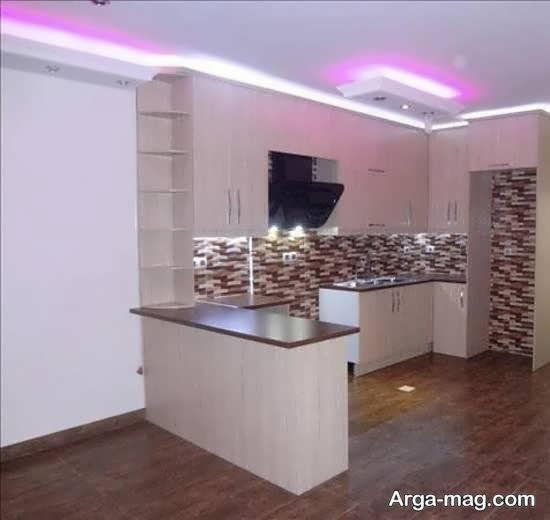 آشنایی با ایده های زیبا و شیک رنگ کابینت آشپزخانه کوچک