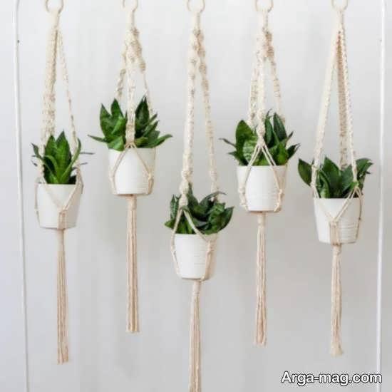 مجموعه ای متفاوت و خاص از نمونه های گلدان آویز