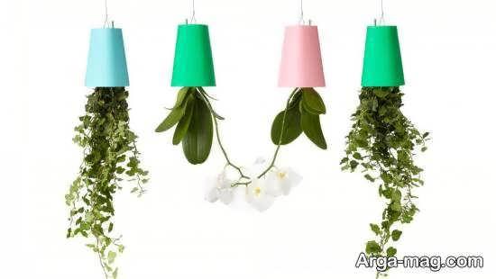 مدل گلدان آویز راه حل مناسبی برای فضاهای کوچک