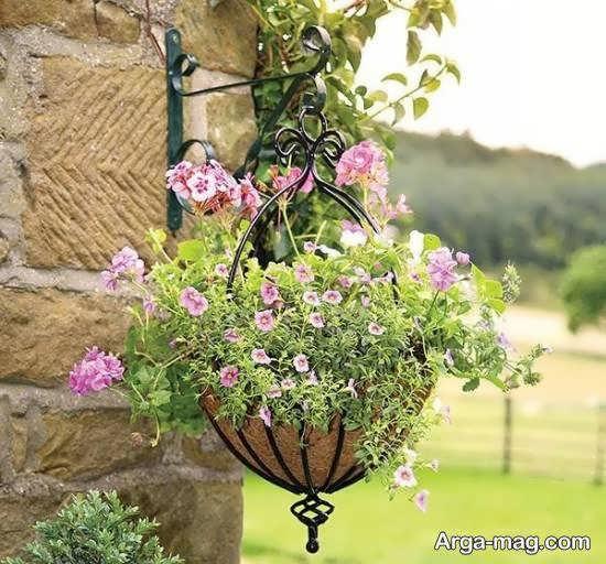 انواع متنوع و متفاوتی از مدل گلدان آویز
