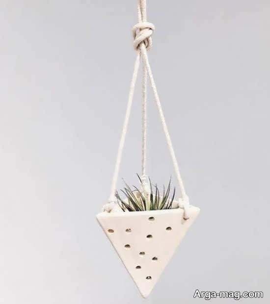 نمونه هایی شیک و خارق العاده از گلدان آویز