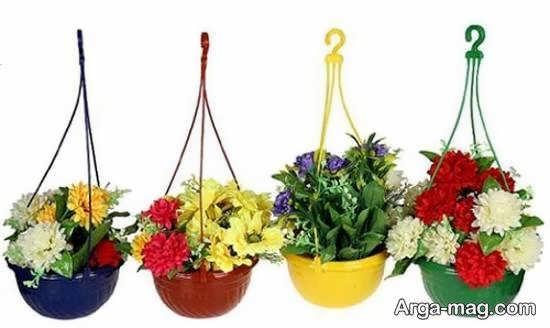نمونه هایی استثنایی و ایده آل از گلدان آویز