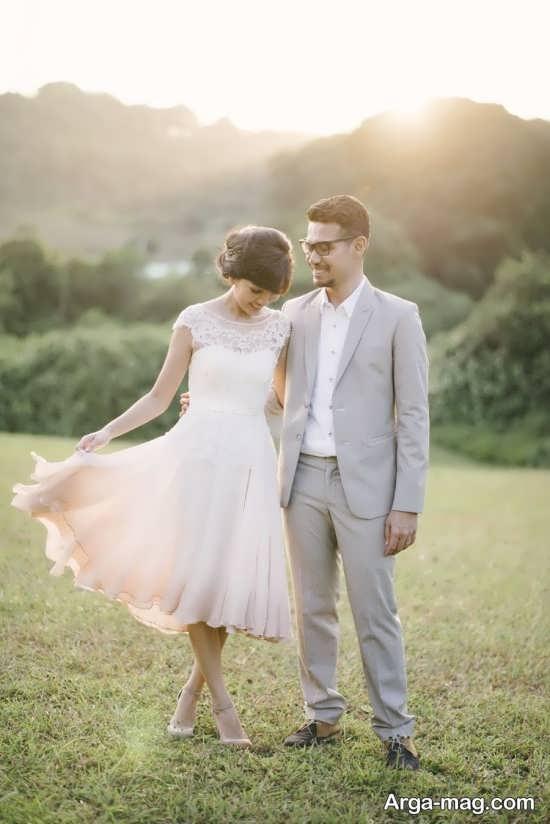 ژست بسیار عاشقانه برای سالگرد ازدواج
