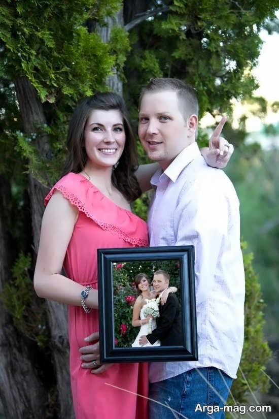 انواع متنوع ژست عکس برای سالگرد ازدواج