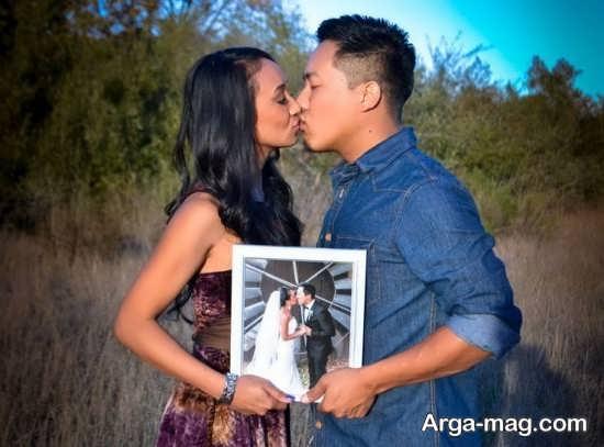 انواع مختلف ژست عکس برای سالگرد ازدواج