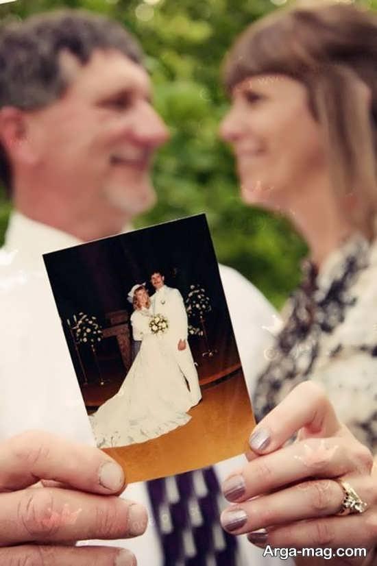 فیگور عکس برای سالگرد ازدواج افراد میانسال