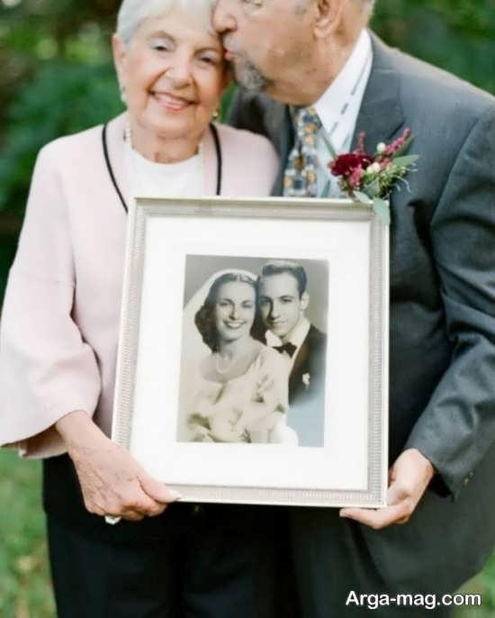 ژست عکس برای سالگرد ازدواج جدید