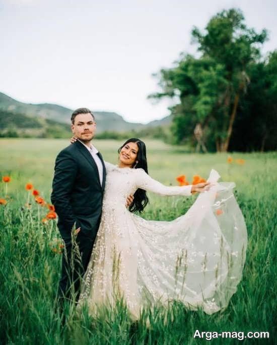 انواع زیبا ژست عکس برای سالگرد ازدواج