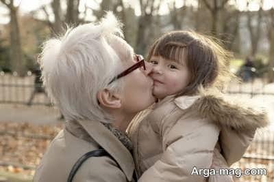 اشعاری در مورد مادر بزرگ