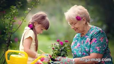 شعر دلنشین در مورد مادر بزرگ