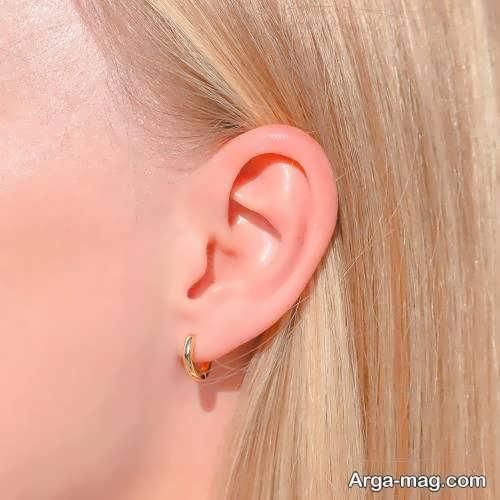 گوشواره شیک حلقه ای