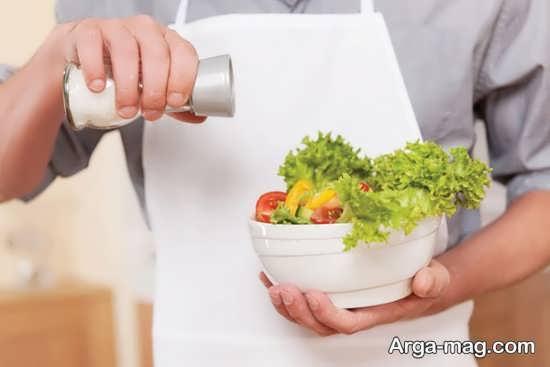 مضرات خوردن نمک در حاملگی