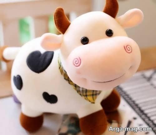 عروسک نمدی گاو برای هفت سین