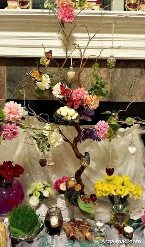 هفت سین درختی برای سال گاو