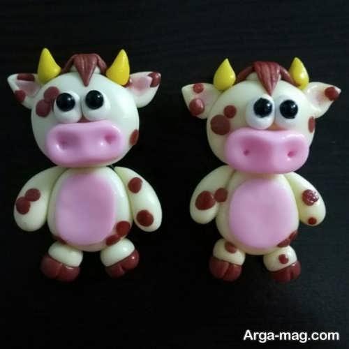 عروسک نمدی گاو