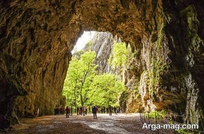 بازدید از غارهای شکوجان در اسلوونی