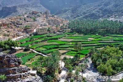 آب و هوا در سرزمین عمان