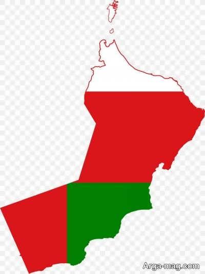 موقعیت جغرافیایی کشور عمان