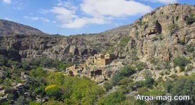 دیدن کردن از جبل اخضر در عمان