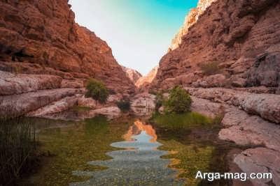 بازدید از وادی شاپ های زیبا در عمان