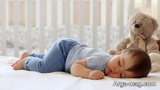 انواع وضعیت درست خواباندن نوزاد
