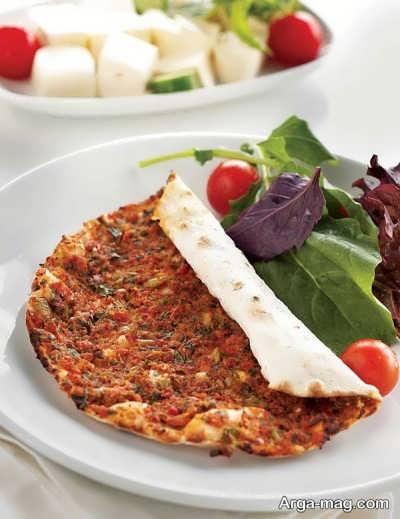پیتزای ترکیه ای