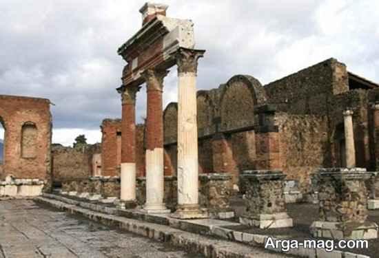 محوطه باستانی پمپی