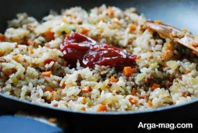 دستور تهیه املت برنج