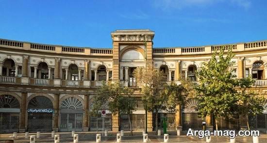 بناهای زیبای تهران