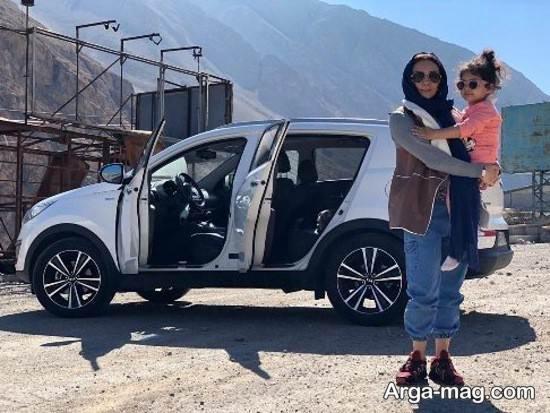 عکس های جذاب یکتا ناصر و دخترش