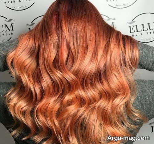 رنگ مو مسی 1400