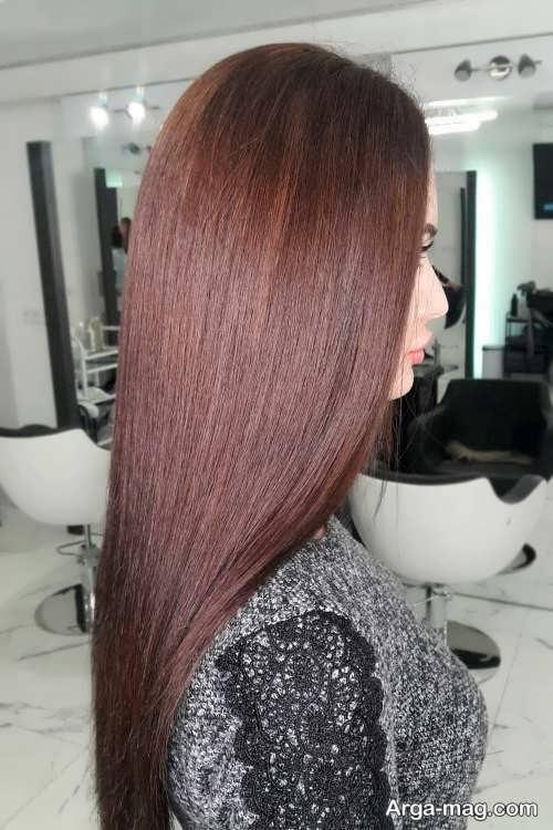 مدل رنگ مو شیک و تیره