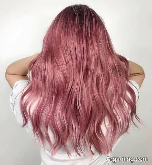 رنگ موی دخترانه 1400