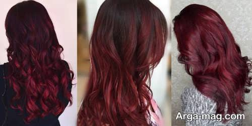 رنگ موی ماهاگونی