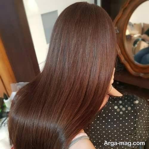 رنگ موی فندقی