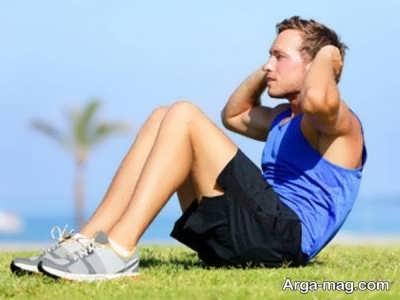 کوچک کردن شکم با حرکات ورزشی
