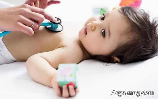 بررسی تعداد تنفس نوزاد