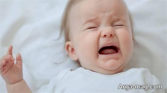 گریه های بی دلیل و ناگهانی نوزاد