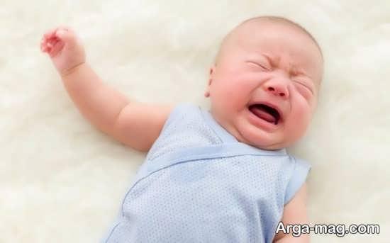 گریه های شدید و بی دلیل کودکان